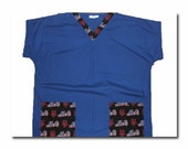 New York Mets Scrub Top Large