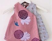 Little bird kimono (lavender)