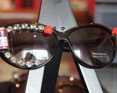 Vintage Style Jewelry Sunglasses - Glamourous BUD Glasses