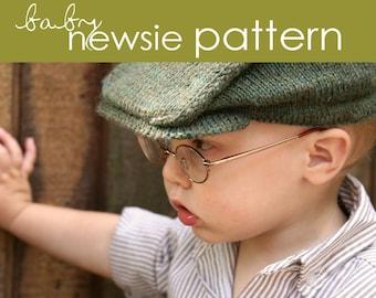 Baby Newsie PDF PATTERN - (3-6, 6-12, and 12-24 months)