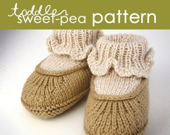 Toddler Sweet-Pea PDF PATTERN - (1, 2, and 3 years)