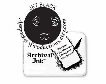 Archival Ink Pad Jet Black Ranger Industries