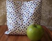 Reusable Snack Bag - Reusable Sandwich Bag - Polka Dots - Large Size -Eco and Kid Friendly