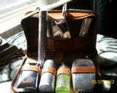 Vintage Male Travelers Shaving and Bath Kit- RESERVED FOR Jamie