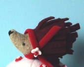 Hedgehog Pincushion- A Hedgie for Christmas