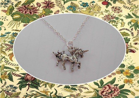 small Unicorn Necklace