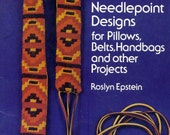 AMERICAN INDIAN NEEDLEPOINT DESIGNS  Vintage 1973 Pattern Book