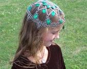 Arianwen Elven Cap Headdress in Chain Maille - Hawkwolf