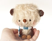 Nimu stuffed bear plushie toy - made to order -