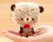 amigurumi bear for blythe -made to order- Happy Bibu -