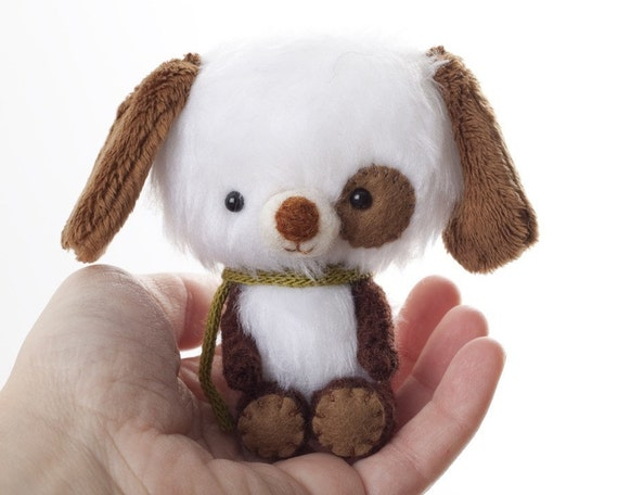 Teo  miniature teddy bear plush toy - Made to Order -