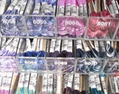 Reserved for bjs049 - 56 skeins - 84.00 - Seasons Variegated Embroidery Floss by Cosmo - 5 Skeins - 1.50 Dollars a Skein