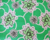 Reserved for laura - 5 yards - 32.50 - SALE - Daisy Chain - Clematis - By Amy Butler - Green - 1 Yard - 6.50 Dollars