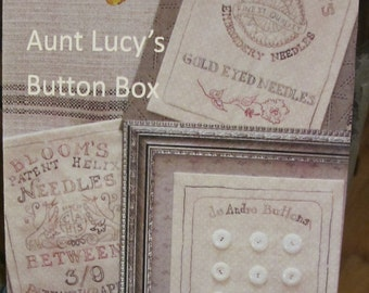 Aunt Lucy's Button Box Pattern - By Crabapple Hill (264) - 9.00 Dollars