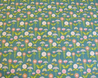 SALE Summer Song - Love Birds - Fabric by Riley Blake - 5.00 per yard