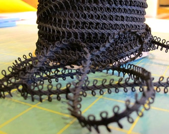 Black Loop Braid -  5 yards for 6.00 Dollars