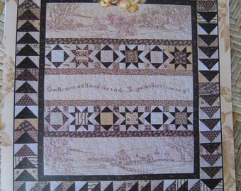 Over the River and Through the Woods.... Embroidery and quilt pattern by Crab-apple Hill