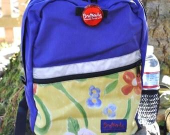 Kids Backpack - purple/floral