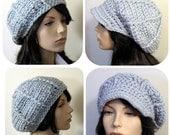 The Ava Hat - Beret or Applejack 2 styles in 1 - Crochet Pattern PDF