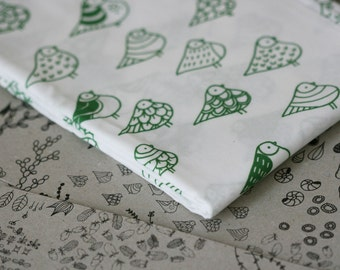 Coldgull Fabric - Forest Green - Small Piece