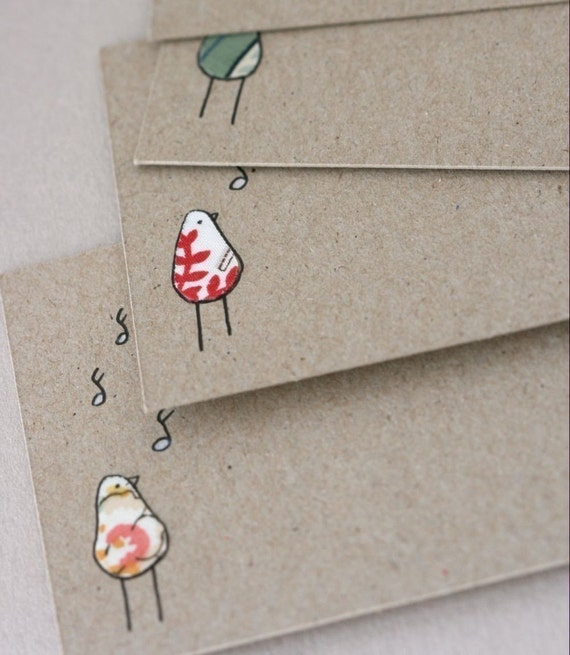 Note Cards - Singing Birds