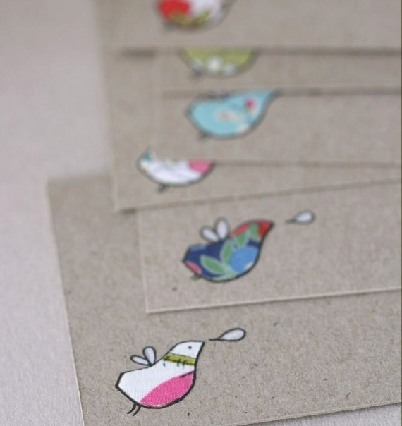 Note Cards - Finchlings
