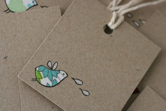 Gift Tags - Finchlings