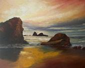 Rising Tide ORIGINAL Oil Painting 24X30