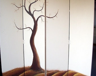 Tree Screen Room Divider ORIGINAL 80X60