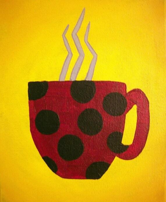 Cup of Joe III ORIGINAL 8X10