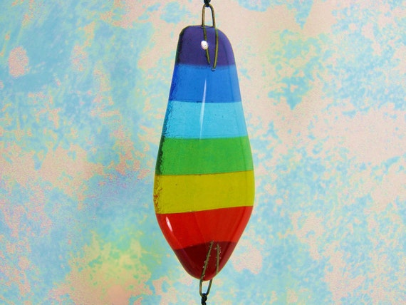 Glass Rainbow with Crystal Prism Rainbow  Maker