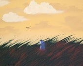 Prairie Field Schnauzer dog print by Todd Young