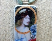 Alice Through the Looking Glass Pendant