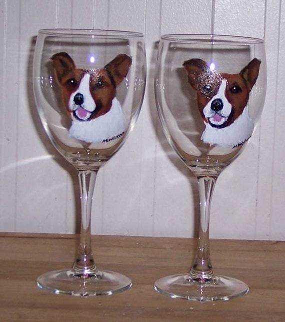 Cat Wine Glasse