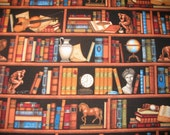 HOME LIBRARY all cotton fabric -- SOLD BY THE YARD