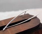 SSS - reclaimed sterling silver earrings