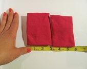 hot pink wristband, plain