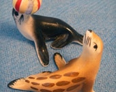 Circus Seal Figurines