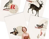 A dash of red Card Set- Digital PDF Cards for Download and Print