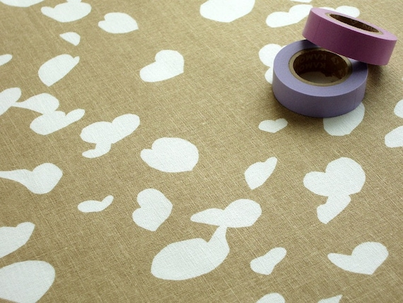 SALE - Fabric - Katsura in Cafe au lait