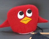 Yarn Ball and Toy Bag - Red Bird