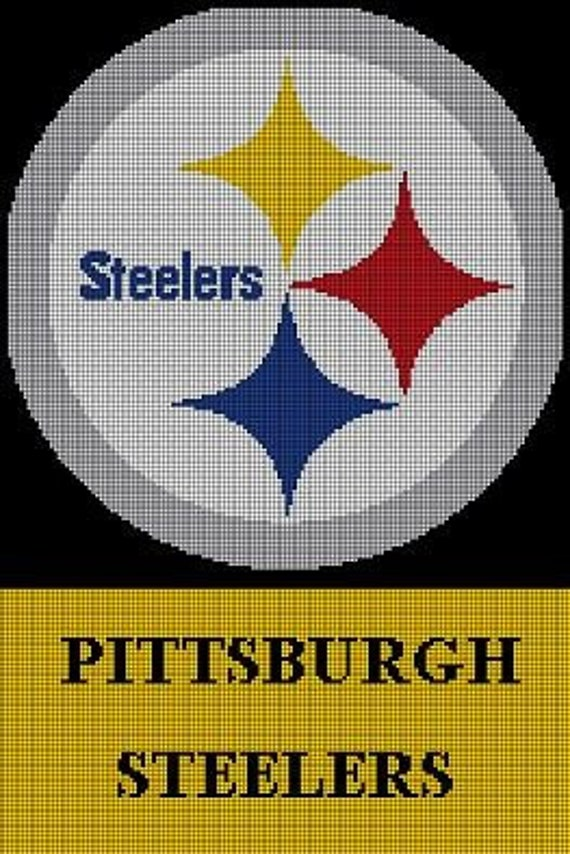 Items similar to CROCHET PATTERNS PITTSBURGH STEELERS ...