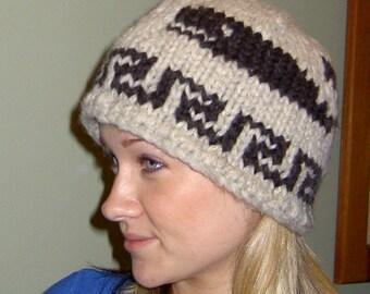 Cowichan Wool Hat Etsy