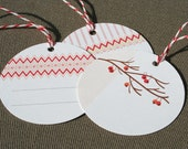 Holiday Gift Tags- Set of 12