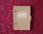 autumn mixed paper book // 2011 // white cover