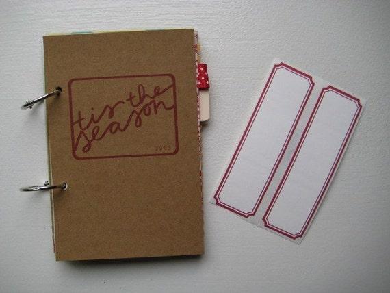holiday mixed paper book // 2010