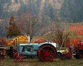 Tractors at Gatzke's Farm Landscape Photography