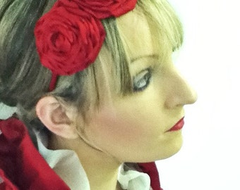 Bonzie Silk Corsage Fascinator