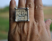 Soldered Ring  JUNK DIVA
