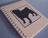 Pug Spiral Notebook - Recycled Paper